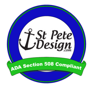 StPeteDesign.com Ada section 508 Compliant